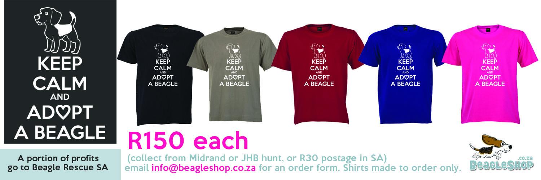 adopt beagle shirtAD
